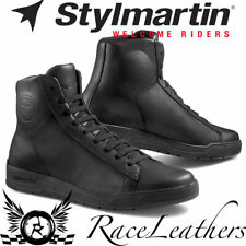 STYLMARTIN CORE WP WATERPROOF BLACK BASKETBALL TYPE MOTORCYCLE BOOTS SNEAKERS