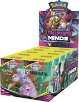 Pokemon TCG Unified Minds Build and Battle Box Case 10 Prerelease Kits