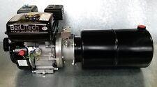 Hydraulikaggregat 6,5PS Benzinmotor + Pumpe 260bar +10ltr Behälter / Holzspalter