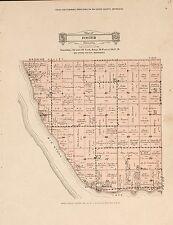 1931 Big Stone County plat maps Minnesota Genealogy history Atlas Land P157