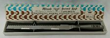 "Madeira Miracle Gourmet 12.5"" Serrated Stainless Steel Knife Vintage With Box"
