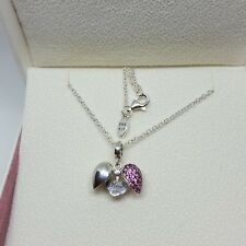 Pandora Necklace Silver I Love You Locket