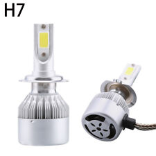 New COB H7 C6 72W 7600LM LED Headlight Kit Hi/Lo Turbo 6500K Light Bulb Car Auto
