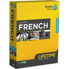 Rosetta Stone - Learn UNLIMITED Languages with Lifetime access - French - NEW