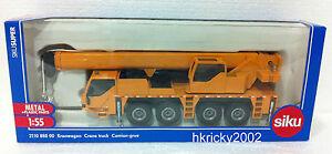 Siku Super 2110 888 00 1:55 Liebherr Construction Site Mobile Crane Truck Model