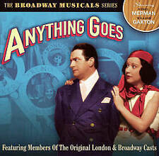 Anything Goes (traete members of the Original London and Broadway casts NUOVO