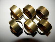 Brass Bands for Duck or Goose Calls, 12 each (1 dozen)