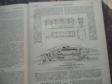 1889 Docks in Dundee Hafen Schottland
