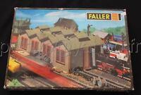 O529 FALLER TRAIN HO REMISE A LOCOMOTIVE VAPEUR B 158