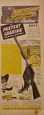 1939 Daisy BB Frontiersman Gun~DOKATO DICK~COCA~COLA AD