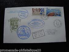 TAAF lettre 19/2/92 - timbre Yvert et Tellier n°147 aerien 73 (cy6)