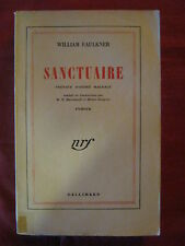 SANCTUAIRE - William FAULKNER - GALLIMARD - 1949