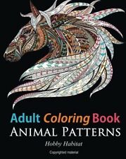 45 Stress Relieving Animal Coloring Designs Stress Relief Adult Coloring Book V2