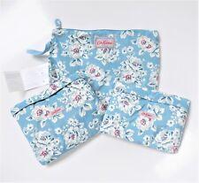 Cath Kidston Foldaway Weekender Bag Set ~ Elvington Rose ~ Set of 2 Bags + Pouch