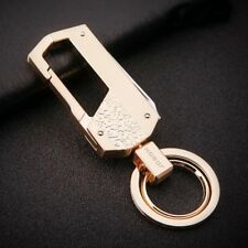 Men's 4 Functions Zinc Alloy Household Keychain Keyring Belt Holder Organizer