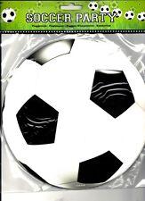 1 FLAGGBANNER GIRLANDE MOTIV:FUSSBALL L: 10m PAPIER / PAPPE FUßball DEKO PARTY1