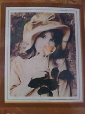 Girl With Rose Cross Stitch Kit