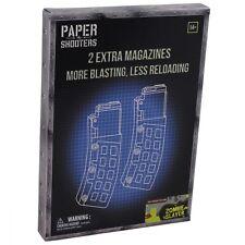 PAPER SHOOTERS 2er PACK EXTRA MAGAZINE ZOMBIE SLAYER BAUSATZ