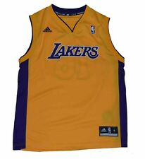Los Angeles Lakers Jersey Gasol #16 Youth Size Medium Yellow