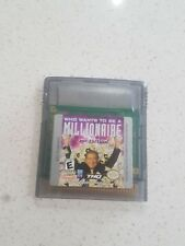 Who wants to be a millionaire Nintendo Gameboy ⭐OZ SELLER GET IT FAST