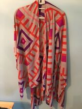 c5a480fd21 Michael Stars Ruana Sarong Scarf Wrap Cover Up Multi color new without tags