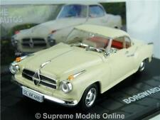 BORGWARD ISABELLA COUPE 57-61 CAR 1/43RD SIZE MODEL RED INTERIOR TYPE Y0675J^*^