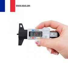 Testeur d'Usure Pneu Patins de Frein Mesure 0 - 25 mm Mètres et Pouces Jauge