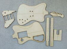 Non Reverse Firebird Guitar Template Set