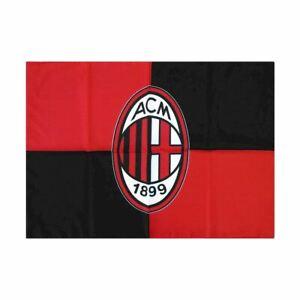 Bandiera Milan Piccola originale ufficiale AC logo con asola