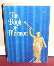 The Book of Mormon Blue Special Collectors Ed. 1961 LDS Vintage Rare No Markings