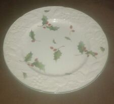 "Mikasa ""Seasons Holly / English Countryside"" Dinner Plate"
