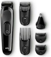 Braun Mgk3020 Beard / Hair Face Head Trimmer Multi Grooming Kit For Men 1 ea