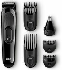 Braun Mgk3020 Beard / Hair Face Head Trimmer Multi Grooming Kit For Men 1 ea