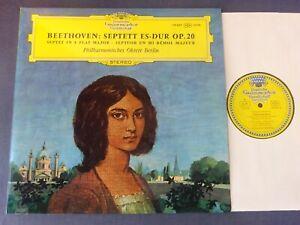 TULIPS NM BEETHOVEN - SEPTET IN E FLAT MAJOR LP, Berlin Octet, DG 138 887