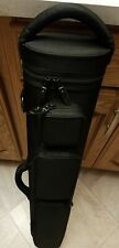 J.B.Case Rugged 4x8 Solid Black Color With Backpack Straps