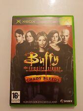 BUFFY the Vampire Slayer CHAOS BLEEDS XBOX 1 (1ra generacion)Pal España COMPLETO