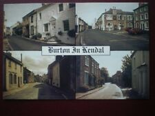 POSTCARD CUMBRIA BURTON IN KENDAL - MULTI VIEW