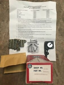 AMC Rambler Holley model 1931 Mod kit 1966 01-10-50 1967 01-10-50-80 3209791