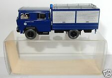 WIKING HO 1/87 TRUCK CAMION MAGIRUS GERÄTEWAGEN THW SERVICES TECHNIQUES IN BOX
