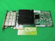 NetApp HBA SAS 4-PORT 3/6 GB QSFP PCIe 111-00341 Controller PM8003