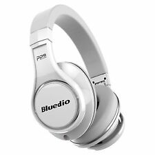 Bluedio U UFO Bluetooth Wireless Headphones Over-ear PPS 8 Drivers With Micwhite