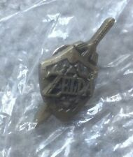 "Legend of Zelda Ocarina of Time 1.25"" Promo Pin Nintendo 64 NEW UNOPENED PACKAGE"