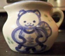 M A HADLEY MINIATURE TEDDY BEAR CREAMER