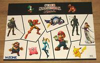 Super Smash Bros. Brawl / Metroid Prime 3 Corruption very rare Poster 42x59cm