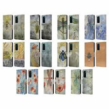 OFFICIAL STEPHANIE LAW IMMORTAL EPHEMERA LEATHER BOOK CASE FOR HUAWEI PHONES