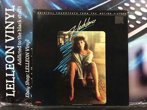 Flashdance Original Soundtrack LP Album Vinyl 811492 Film Movie 80's HOL Irene