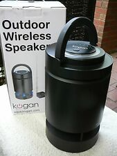 Outdoor Wireless Speaker/ Dock, Inst Book ,Use w/ MP3,CD,DVD Player,Cable BoxTV