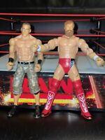 WWE MATTEL FLEXFORCE ACTION JOHN CENA AND DANIEL BRYAN WRESTLING FIGURE