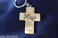 Christian Scripture Bible Verse Inspiration Metal enamel HQ Key Chain Keychain H
