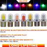 10x T10 194 168 LED CANBUS Weiß COB 8 SMD Kennzeichenbeleuchtung Birne Lampe